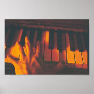 Piano Photography Print