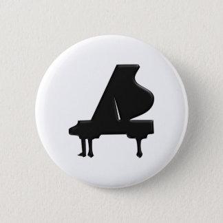 Piano Pinback Button