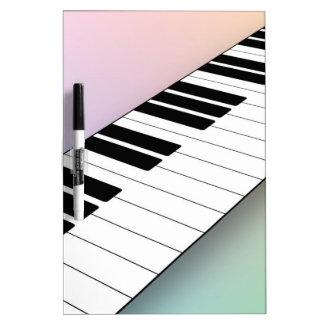 Piano Pizarra Blanca