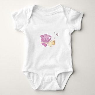 Piano Player Baby Bodysuit