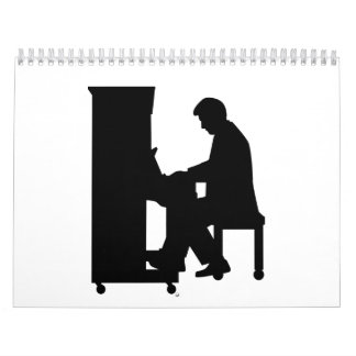 Piano player calendar