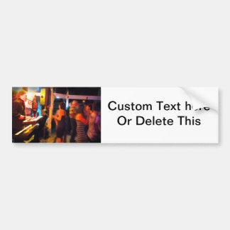 piano player dancers abstract painting image.jpg bumper sticker