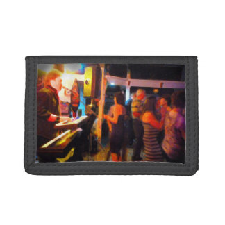 piano player dancers abstract painting image.jpg tri-fold wallets