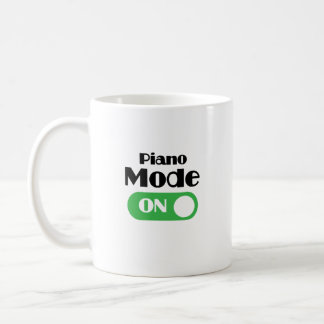 Piano Player Funny Gift - Piano Keyboard Keys Coffee Mug