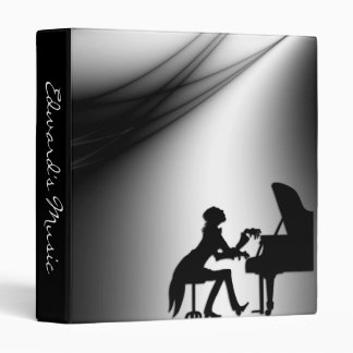 Piano Player Personal Music Binder
