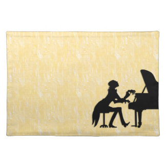 Piano Player Placemat