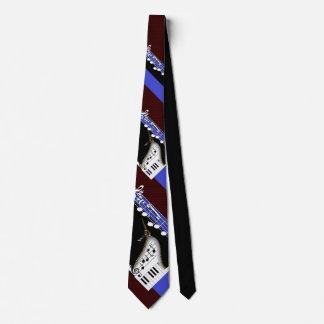 Piano Player Tie
