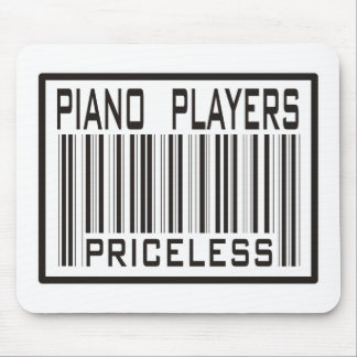 Piano Players Priceless Mouse Pad