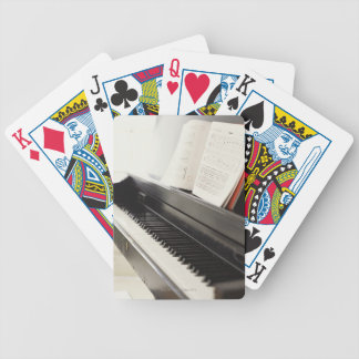 Piano Bicycle Playing Cards