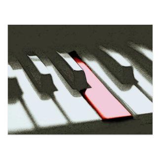 Piano Postcards