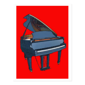 Piano Post Cards