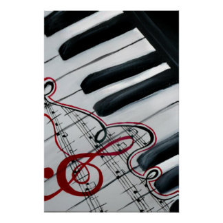 Piano Póster