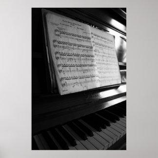 Piano poster