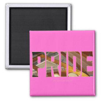 Piano Pride 2 2 Inch Square Magnet