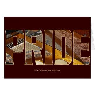 Piano Pride 2 Card