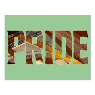 Piano Pride 2 Postcard
