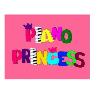 Piano Princess Card Post Card