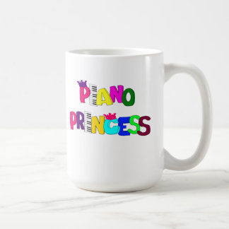 Piano Princess Coffee Mug