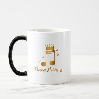Piano Princess Music Gif Kids Girls Women Magic Mug