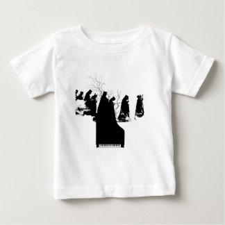 Piano Procession Baby T-Shirt