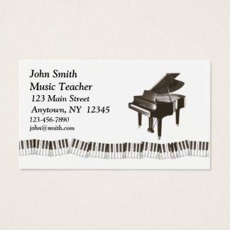 Piano Profile Card
