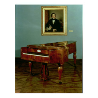 Piano que pertenece a Francisco Peter Schubert Postales