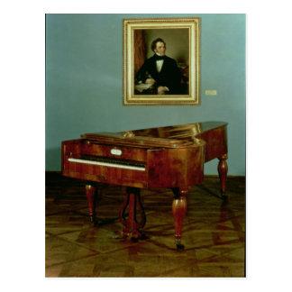 Piano que pertenece a Francisco Peter Schubert Postal