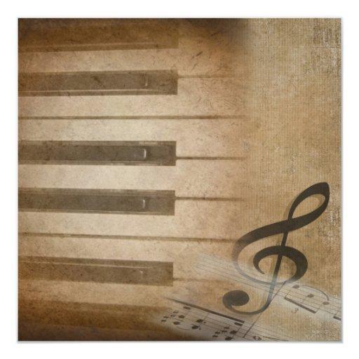 Piano Recital Custom Invite