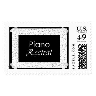 Piano Recital Postage