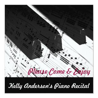 Piano-Related Event Invites