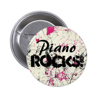 ¡Piano, rocas! Pins