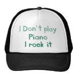 Piano Rock It Hat