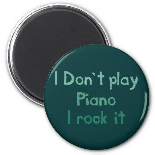 Piano Rock It Magnet