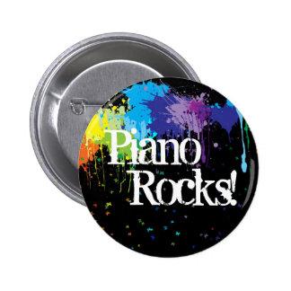 Piano, Rocks! Button