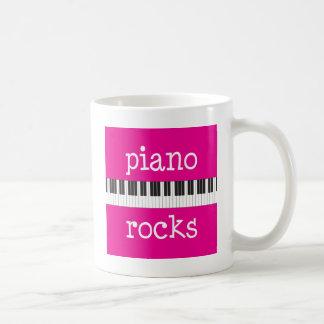 Piano Rocks Pianist Gift Mugs
