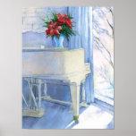 piano room watercolor print