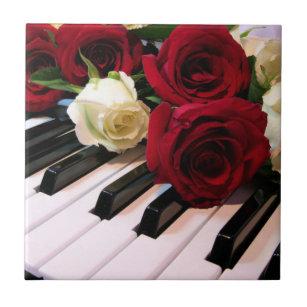 Rose Decorative Ceramic Tiles Zazzle