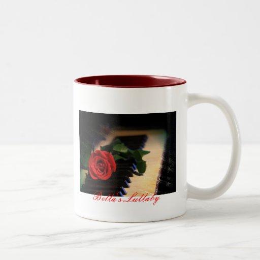 piano, 's Lullaby Two-Tone Coffee Mug