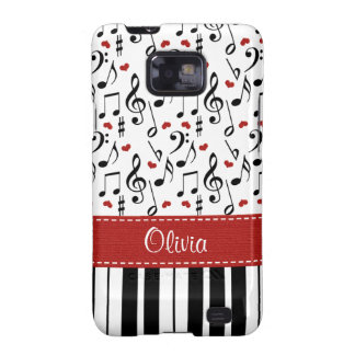 Piano Samsung Galaxy S Case Cover Samsung Galaxy SII Cover
