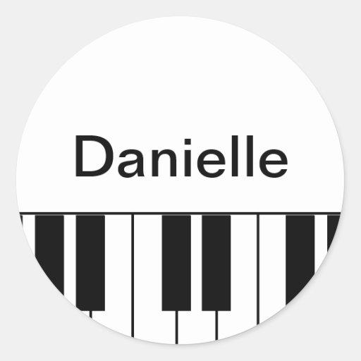 """""""Piano"""" Sticker"""