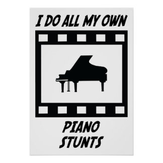 Piano Stunts Poster