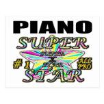 Piano Superstar Postcards