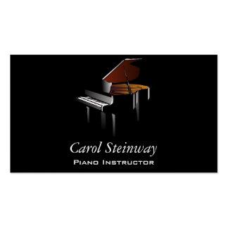 Piano Tarjeta De Visita