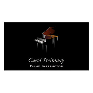 Piano Tarjetas De Visita