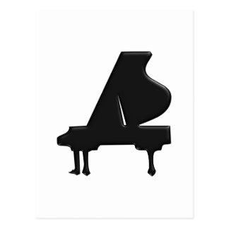 Piano Tarjetas Postales
