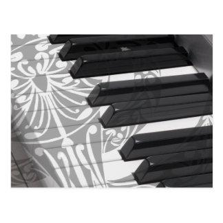 Piano Tattoo Postcards