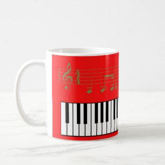 Piano Taza Clásica