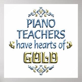 Piano Teacher Appreciation Poster