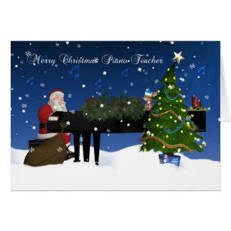 Piano Teachers Greeting Cards | Zazzle
