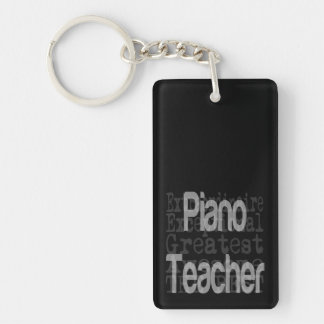 Piano Teacher Extraordinaire Keychain